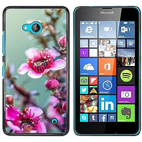 Loire Buntes Gedrucktes Harte Schutzschicht Zurück Deckung Haut Shell NOKIA Lumia 640 ( Stock )