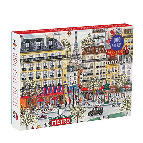 Michael Storrings Paris 1000 Piece Puzzle por Michael Storrings