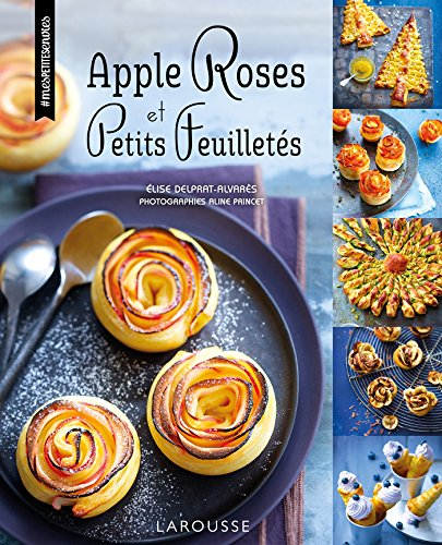 Apple roses et petits feuillets