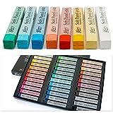 Softpastellkreiden Pastellkreide 36 Stück weiche Pastell Pastels Pestellkreiden Intensive verschiedene Farben