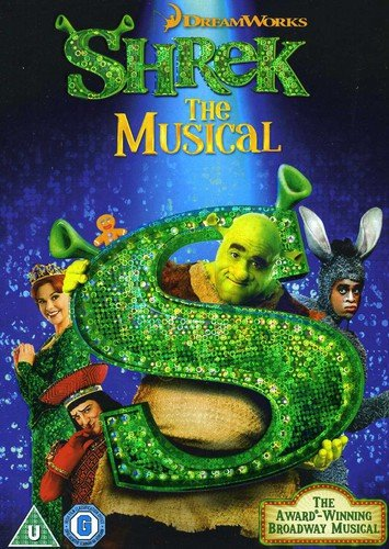 John Adams Kostüm - Shrek the Musical (Dreamworks) [DVD] [Import]