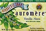 Auromere Ayurvedic Bar Soap Vanilla-Neem...