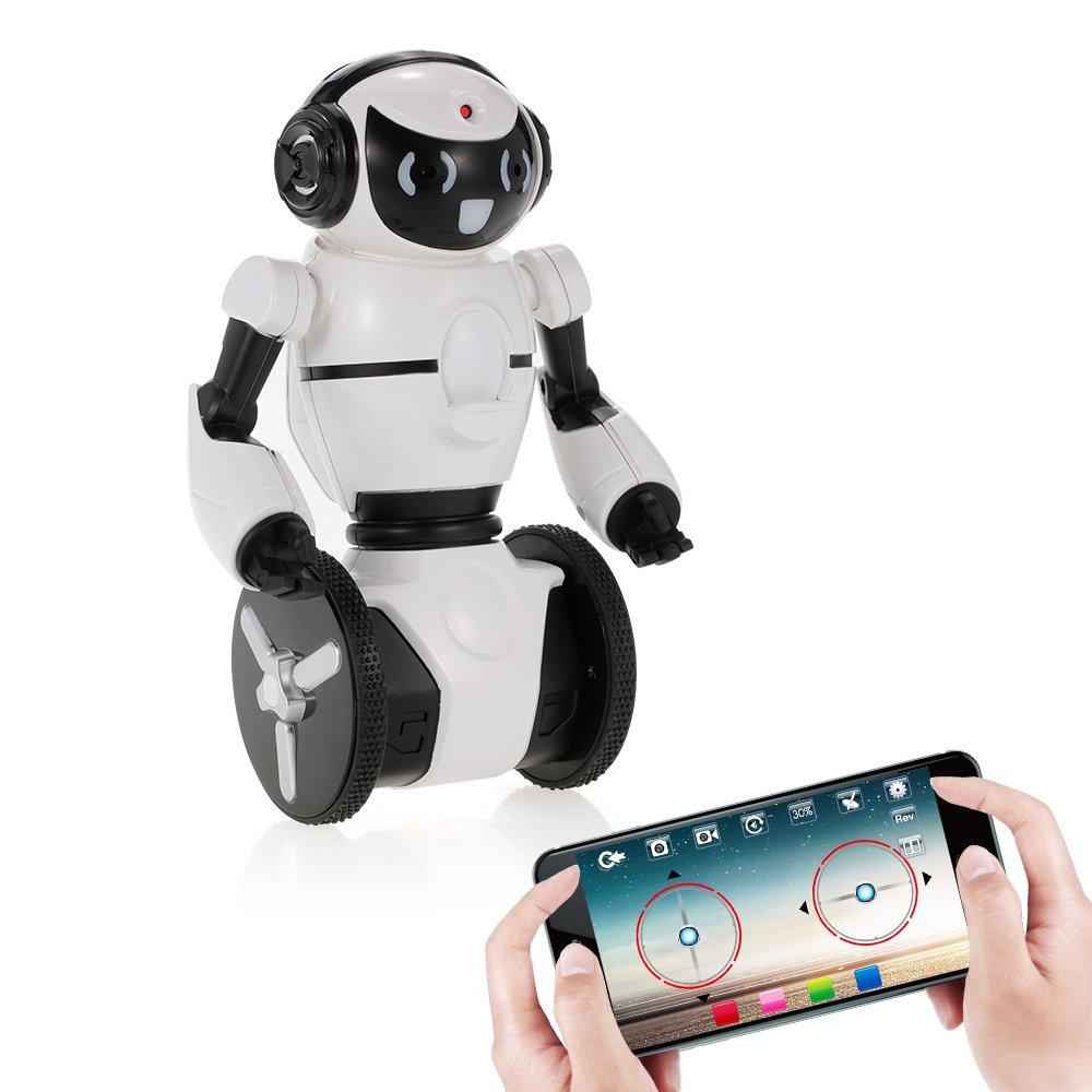 Goolsky Wltoys F4 0.3MP Cámara WiFi FPV App Control Inteligente G-Sensor Robot Super Carrier RC Juguete de Regalo para Niños Niños Entretenimiento