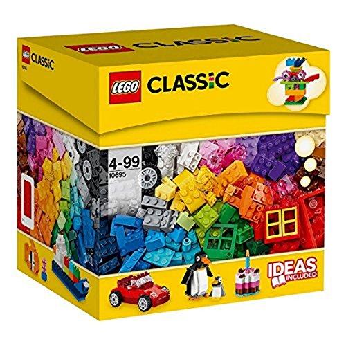LEGO Classic Caja de construcción creativa para niños de 4 años y más (10695)