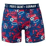 Boxer Om Fan de Marseille - Licence Officielle - Multicolor. Taille EU - L