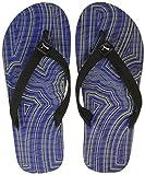 Puma Men's Prisma Flip IDP Surf The Web, Quarry and Blazing Yellow Flip Flops Thong Sandals - 8 UK/India (42 EU)(36652801)