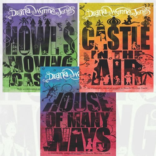 Diana Wynne Jones Collection 3 Books Bundle (Howl's Moving Castle, Castle in the Air, House of Many Ways) by Diana Wynne Jones (2015-11-09)