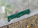 4Stück Krallen-Kunststoff Bodenbefestigung für Displayschutzfolie versucht wird,
