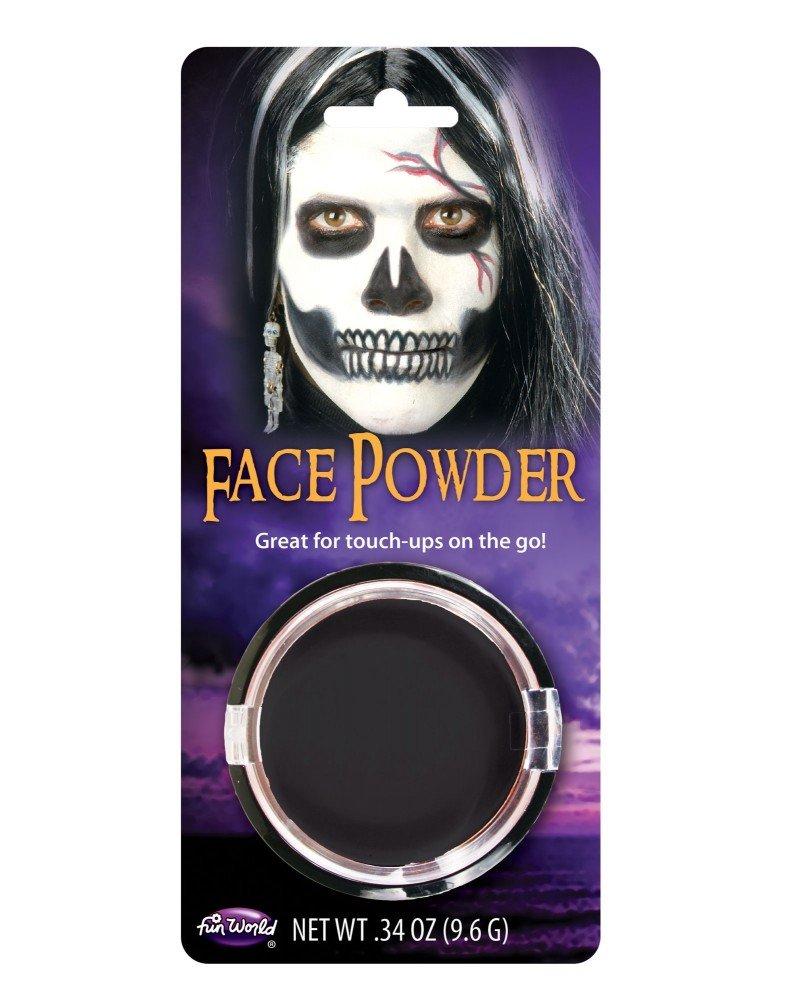 shoperama Kompaktpuder Schminke Make-up Halloween Karneval Fasching Vampir Werwolf Zombie Totenkopf Frankenstein Puder…