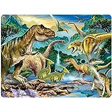 Dinosaurier-Tal Howard Robinson Super 3D Bewegend Postkarte