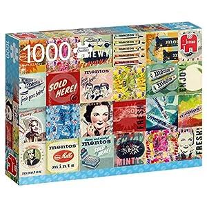 Premium Collection Mentos Vintage 1000 pcs Puzzle - Rompecabezas (Puzzle Rompecabezas, Arte, Niños y Adultos, Niño/niña, 12 año(s), Interior)