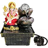 Tied Ribbons Ganesha Water Fountain Table Top Waterfall