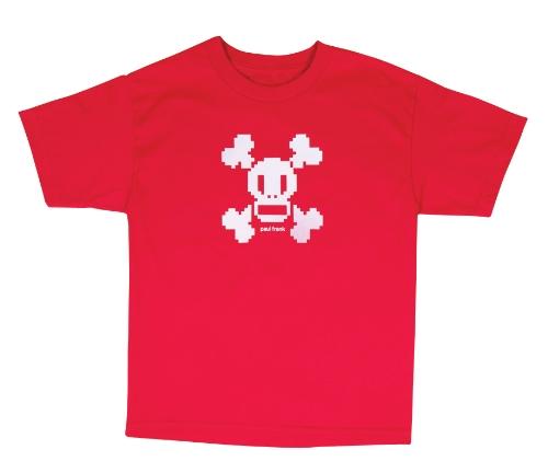 Paul Frank Jungen Skurvy Digi Short Sleeve T-Shirt, Jungen, rot, L (T-shirts Von Paul Frank)