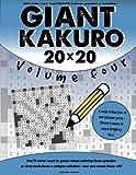 Giant Kakuro Volume 4: 100 20x20 puzzles & solutions