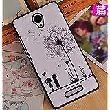 Prevoa ® 丨 Xiaomi Redmi Note 2 2 + Funda - Colorful Plastico Funda Cover Case para Xiaomi Redmi Note 2 2 + 5.5 Pulgadas Smartphone - 8
