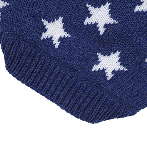 Weihnachten Winter Hunde Sweater Pullover Hundbekleidung (XXL, Blue) - 5