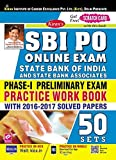 #6: SBI PO Online Exam India Phase - I Preliminary Exam Practice Work Book ENGLISH with 2016-2017 Solved Papers 50 Sets - 2196