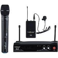 Studiomaster dual wireless Microphone (1 hand mic & 1 colar mic) XR 40HL