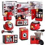Momola Küchenspielzeug, 8 PC Rollenspiel Komisch Mini Pretend Play Küche Spielzeug Kinder Kind Pädagogisches Spielzeug Küche Spielzeug Geschenke