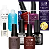CND Shellac Starter Set Small - Dark Edition - Spar Kit 15 % geschenkt