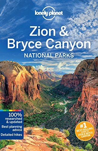Country North Trail Map (Lonely Planet Zion & Bryce Canyon National Parks)