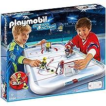 Playmobil Campo de hockey sobre hielo (55940)