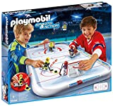 Playmobil 5594 - Arena Hockey su Ghiaccio, Multicolore