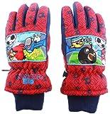 Skihandschuhe Kinder Jungen Angry Birds–Rio Rot 9/10ans