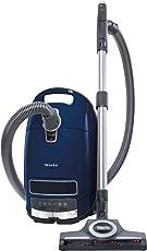 Miele Complete C3 Special PowerLine Bodenstaubsauger (mit Beutel, EEK C, 4, 5 Liter Staubbeutelvolumen, 890 Watt, 12 m Aktionsradius, inkl. Funk-Handgriffsteuerung, Parkett- und Turbobürste) blau