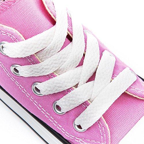 Converse Chuck Taylor All Star Season Hi, Baskets mode fille Pink Sapphir