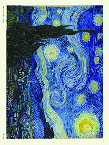 Onthewall Noche Estrellada Van Gogh Póster 30x