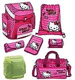 Hello Kitty Schulranzen 7tlg. Set mit Sporttasche Scooli Campus Up rosa HKSU8251-2016
