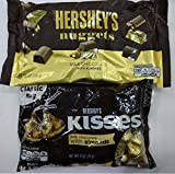 #7: Hershey's Combo Gift Pack of 2 (Hershey's Nuggets Milk Chocolate with Almonds 340g, Hershey's Kisses Milk Chocolate with Almonds 311g)