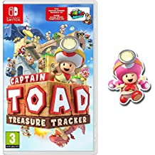 Captain Toad: Treasure Tracker + Pin Toadette (Nintendo Switch)