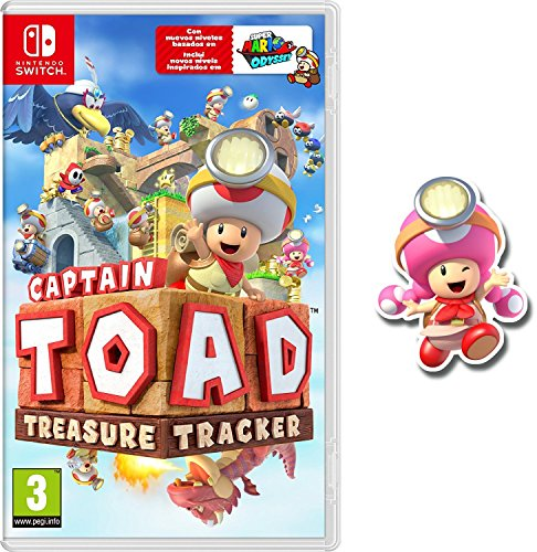 Captain Toad: Treasure Tracker + Pin Toadette (Nintendo Switch) (precio: 34,90€)