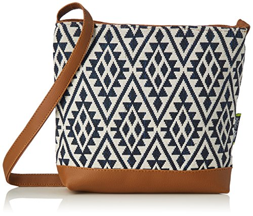 Kanvas Katha Stylish Jacquard Sling Collection Women's Bag (Multi-Color)