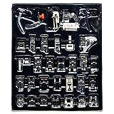Tenflyer Embroidex - riesige Sammlung von 32 Sewing Naehfuesse 32 in 1 Set (B)
