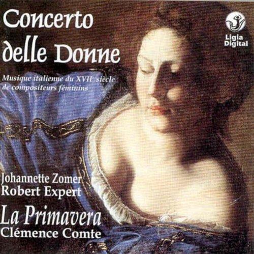 Concerto della donne - Musique italienne du XVIIe s. de compositeurs féminins