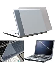 FEDUS 3 in 1 Combo - Laptop Screen Guard, Keyboard Protector and Laptop Skin for All Laptops Laptop Accessories Combo Kit Size 15.6