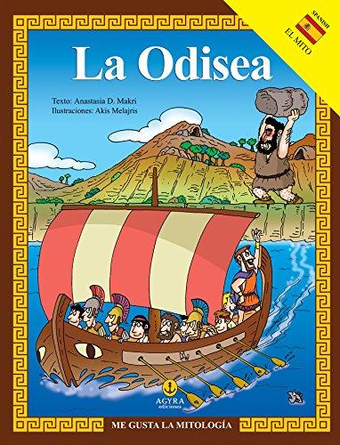 La Odisea (ME GUSTA LA MITOLOGÍA) por Anastasia Makri