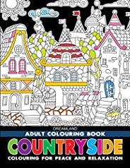 Countryside - Adult Colouring Book for Peace & Relaxa