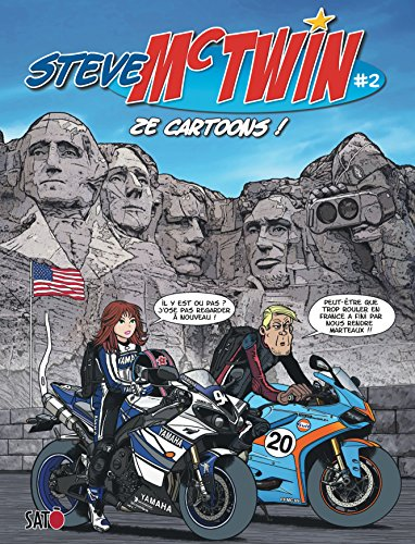Steve Mc Twin - tome 2 - Ze Cartoons !