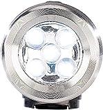 Lunartec Batteriefreie Dynamo-Taschenlampe aus Edelstahl, 0,3W, 0,6 lm - 2