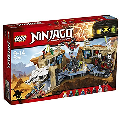 Minifiguren Lego-bösewichte (LEGO Ninjago 70596 - Samurai X Höhlenchaos)