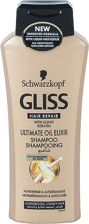 Gliss Ultimate Oil Elixir Shampoo, 400ml