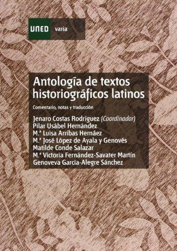 Antología de Textos Historiográficos Latinos (VARIA)