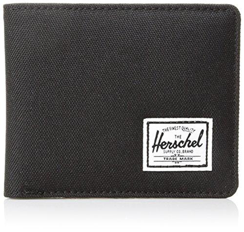 Herschel Hank Wallet Münzbörse, Schwarz/Schwarz Pebbled Marilyn Monroe Geldbörse Für Männer