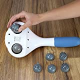 #4: MCP Powerful Double Head Body Massager (White-blue)