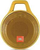 JBL Clip+ Lautsprecher (Ultra, Leichter, tragbarer, Robuster, aufladbarer, Bluetooth Wireless, für Unterwegs Wasserabweisend, geeignet für Apple iOS/Android Smartphones/Tablets/MP3 Geräten) gelb
