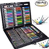 Caja Colores Niños, Legendog Lapices De Colores, Lapices De Colores Niños, Conjunto de Pintura con 150 accesorios